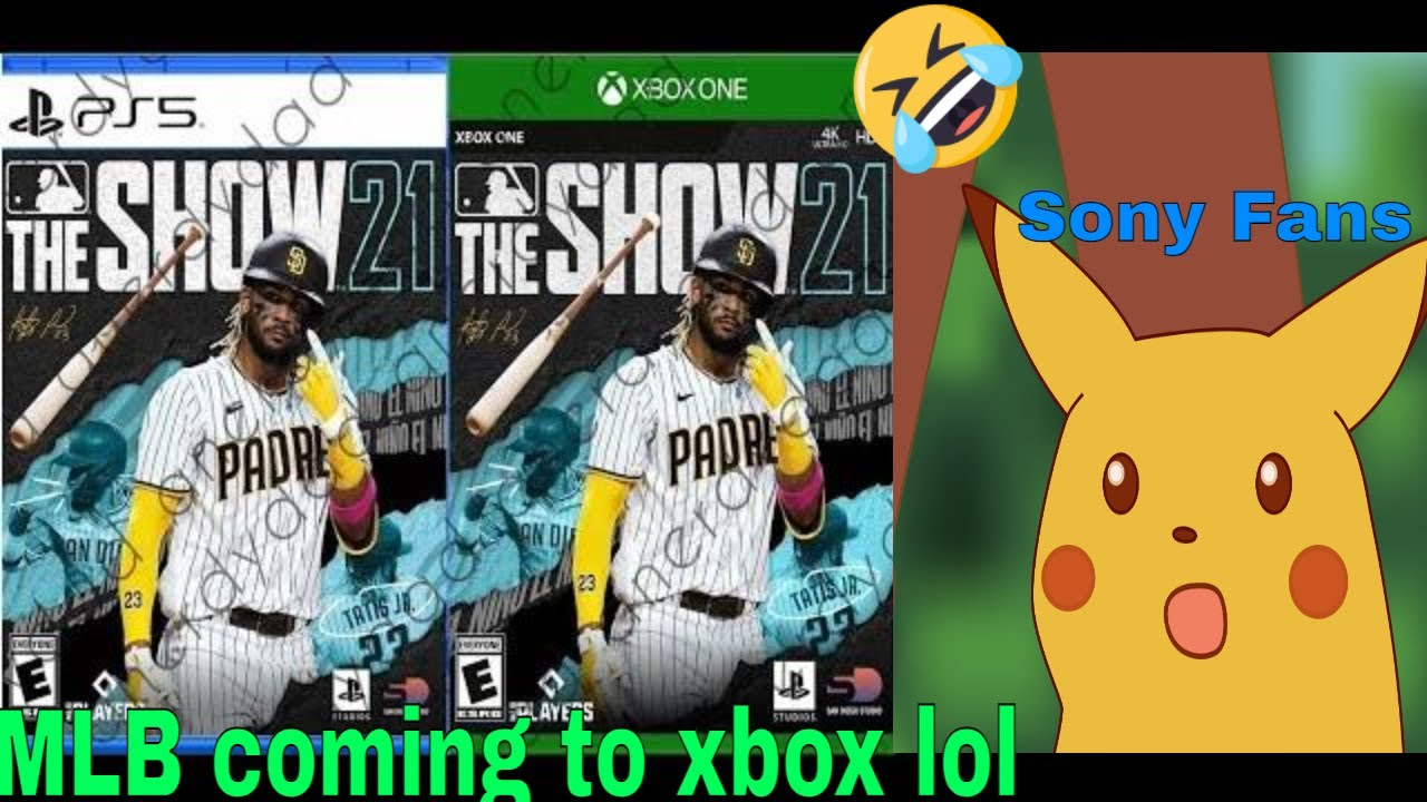 Playstation fans are outraged MLB the Show 21 is coming to Xbox lol
