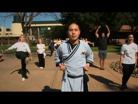Shaolin Monks Teach Stanford Fitness Class