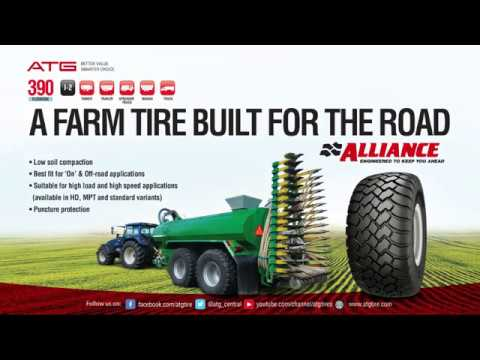 Alliance 390 - Farm Tire at its best