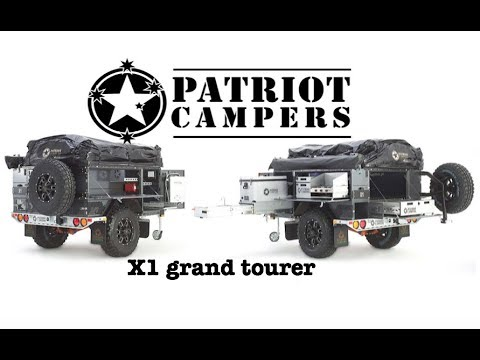 The best tent trailer I have ever seen! Patriot Campers X1-Grand Tourer : SEMA 2017