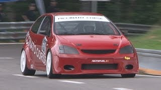 BEST OF HONDA at Swiss Hillclimb 2013, Honda Civic, CRX, Type-R, Integra, Vti, EP1, EP2, EP3