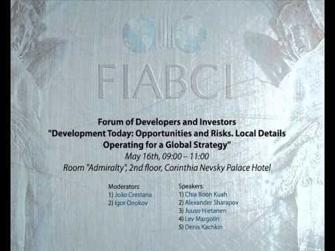 63 FIABCI World Congress: Forum of Developers and Investors