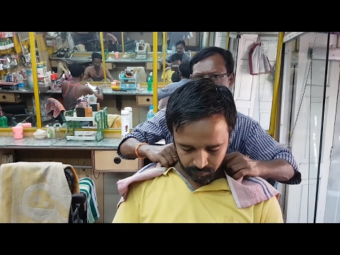 Head Massage (Typical Indian style) - Travel series video 14
