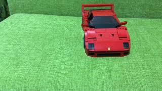 Lego Ferrari F40 review!!!