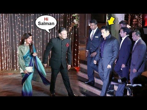 Salman Khan IGNORES Vivek Oberoi At Priyanka Chopra's GRAND WEDDING Reception In Mumbai