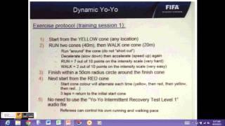 CONCACAF Dynamic Yo-Yo Fitness Test