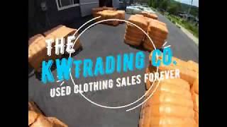한국 구제의류, KW trading, Korea use…