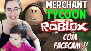 Roblox with Facecam-factory of trinkets (Merchant Tycoon)