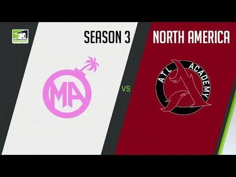 Mayhem Academy vs ATL Academy (Part 1) | OWC 2018 Season 3: North America
