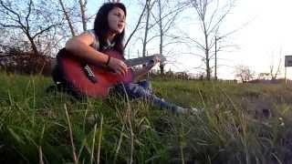 Песня под гитару девушка поет #3