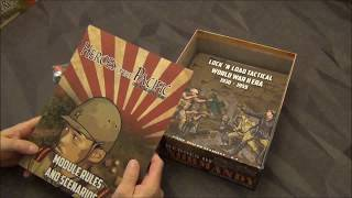 Heroes of the Pacific Unboxing