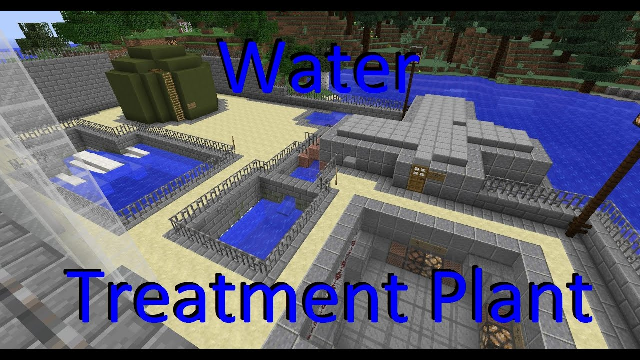 Minecraft Water Treatment Plant