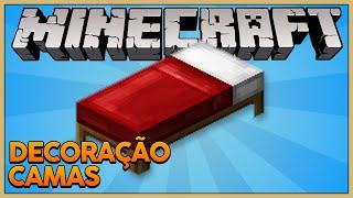 Minecraft Decoração #3: Construindo Camas