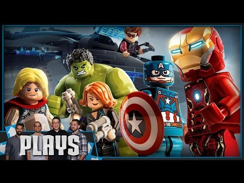 Greg Miller in LEGO Marvel's Avengers - Kinda Funny Plays