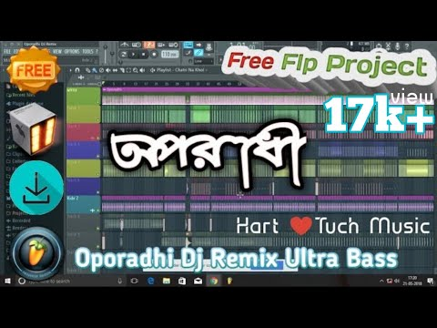 [Free Flp] Oporadhi Dj (Remix) Flp Project File অপরাধী song Bangla Flp