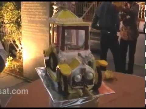 Nizam's Rolls Royce on display