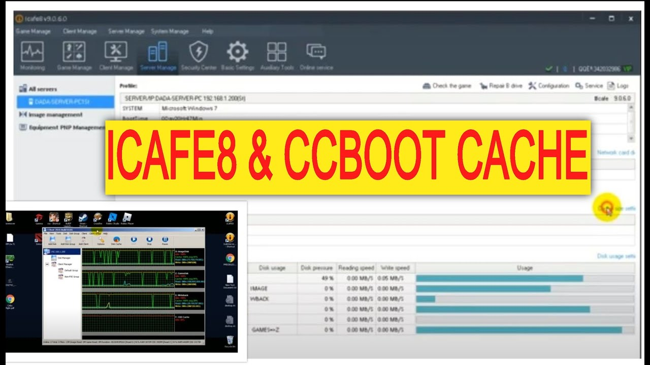 Icafe8 + CCboot combo Tutorial Part1