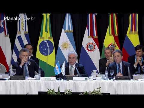 Brasil assume presidência do Mercosul