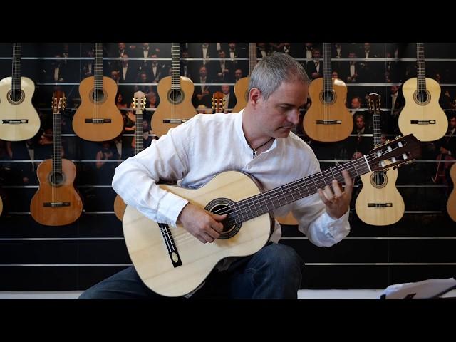 Salvador Cortez CS-80 | Chitarra classica | Guitar test by Gabriele Curciotti
