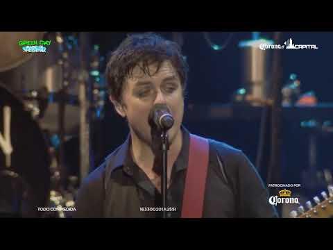 Green Day -  Live Corona Capital -  México