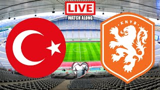 Turkey vs Netherlands LIVE STREAM World Cup Qualifiers Football Match Watchalong Streaming Today