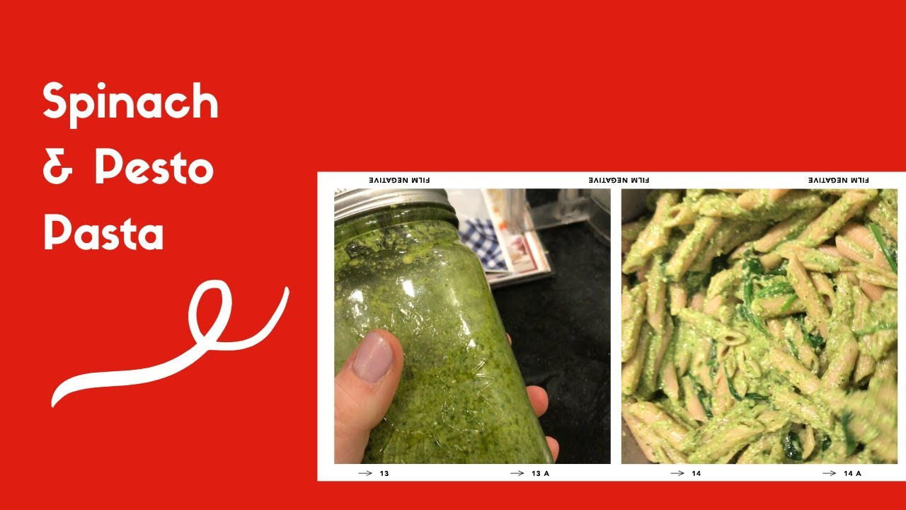 Spinach Pesto Pasta | $2.70 Per Serving | Budget Friendly Recipe