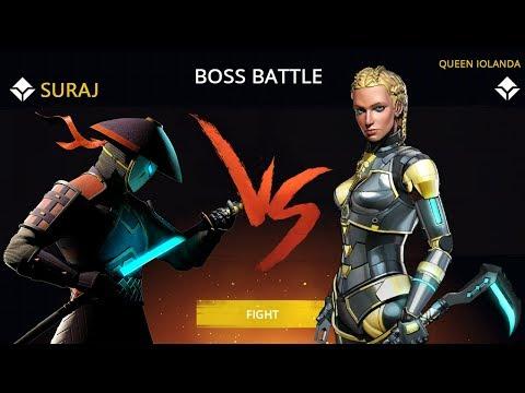 Shadow Fight 3 Official Boss Battle QUEEN IOLANDA Walkthrough Part 30