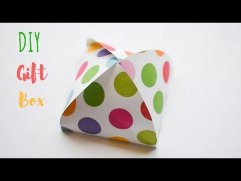 DIY Gift Box Ideas   Handmade Paper Gift Box Ideas   DIY Chocolate Gift Box using Paper #diwaligifts