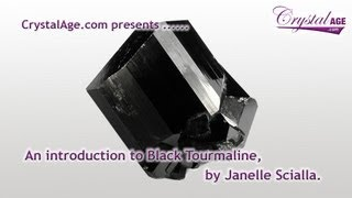 Healing Crystals Guide - Black Tourmaline