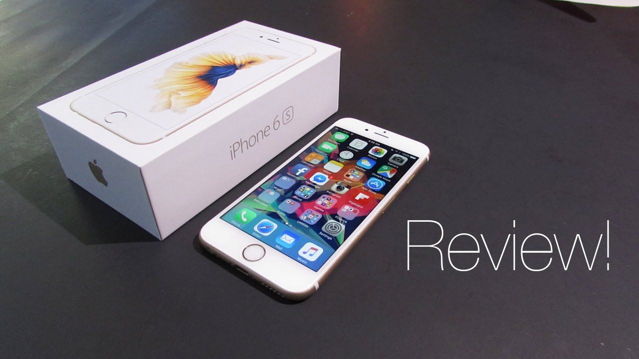 Review Apple Iphone 6s 64gb Gold Youtube 6 Silver