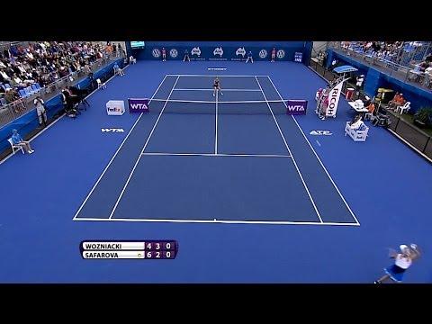 Caroline Wozniacki 2014 Apia International Sydney Hot Shot