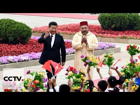 King Mohammed VI of Morocco begins China trip