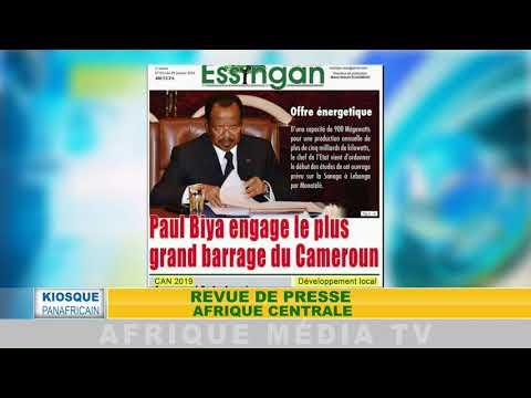 KIOSQUE PANAFRICAIN REVUE DE PRESSE AFRIQUE DU 10 01 2018