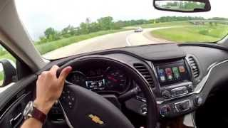2014 Chevrolet Impala 2LZ - WINDING ROAD POV Test Drive