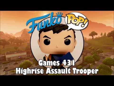 Funko POP Fortnite HIGHRISE ASSAULT TROOPER 431