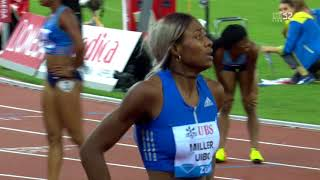 ELAINE THOMPSON AND SCHIPPERS DEFEATED IN WOMEN
