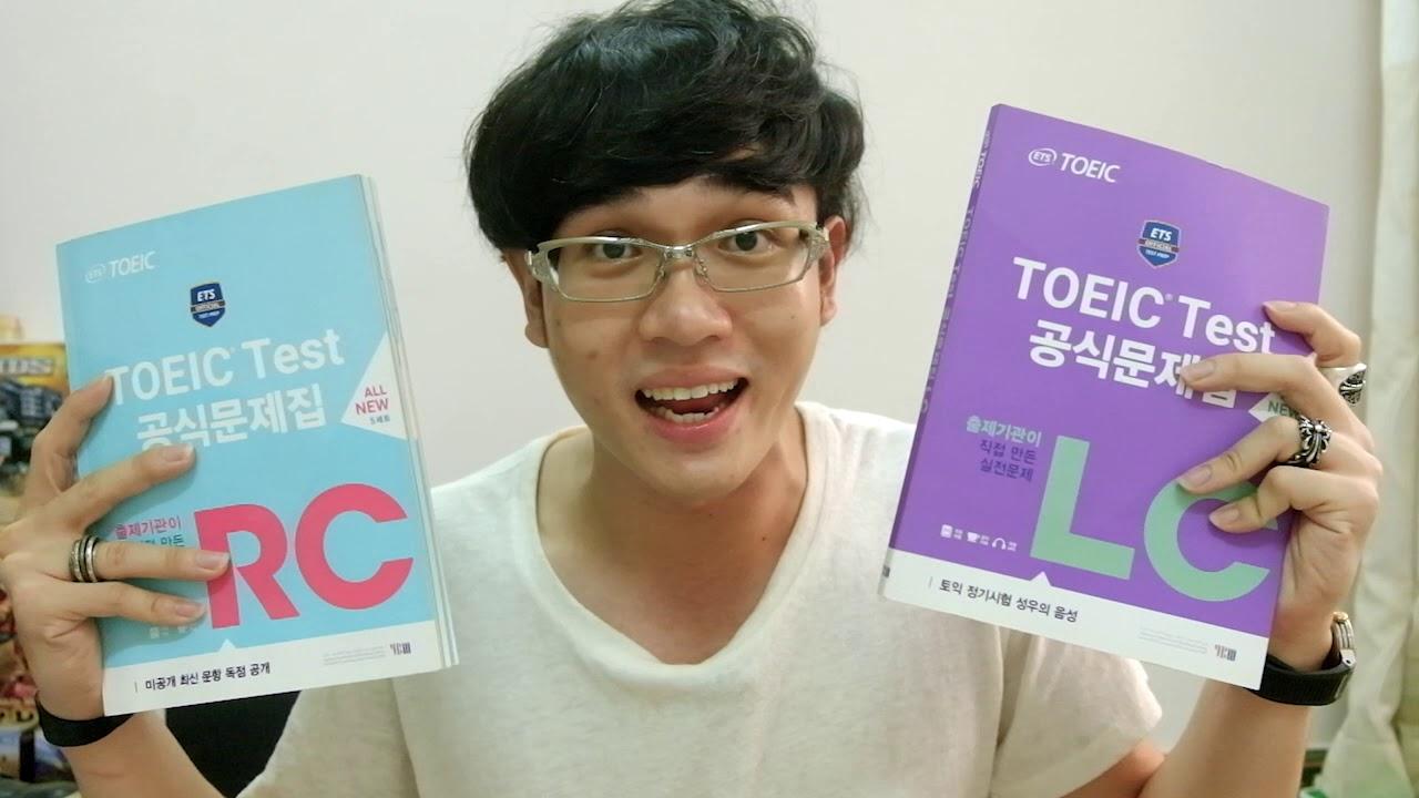 REVIEW SÁCH LUYỆN THI TOEIC FORMAT MỚI 2019