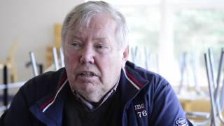 Bert Karlsson får vansinnesutbrott på SVD reportrar