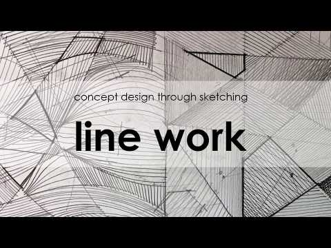 Architectural Concept Design Through Sketching Tutorial 3: line work