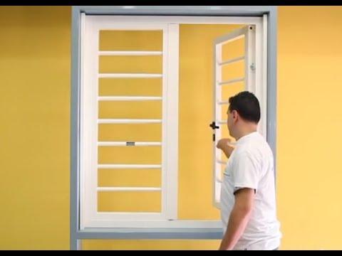 Come installare le grate di sicurezza in ferro rogiamstore youtube - Disegni di grate per finestre ...