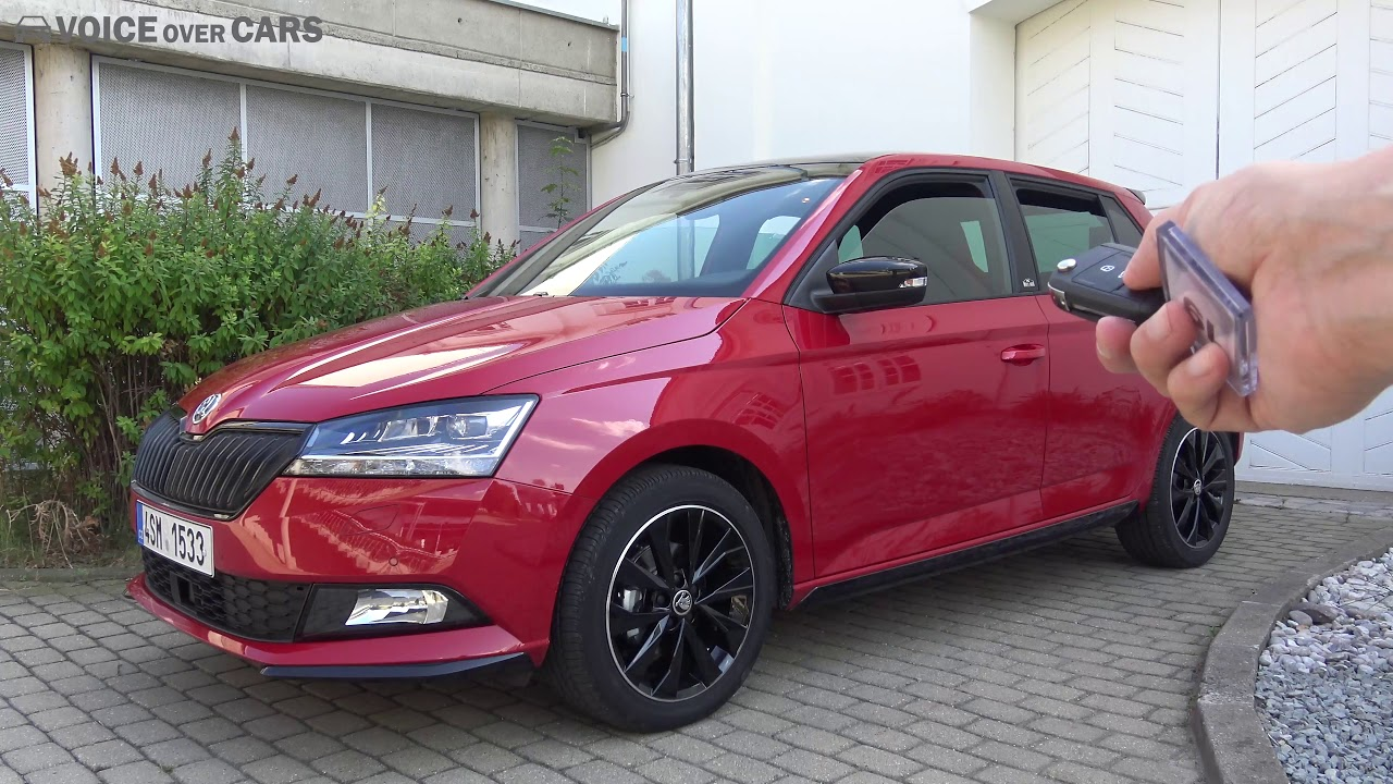 2019 skoda fabia facelift fahrbericht test review. Black Bedroom Furniture Sets. Home Design Ideas