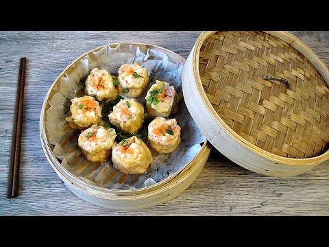 How to Make Shrimp Dumplings | Dim Sum HongKong | Chinese Dim Sum Recipe | Sio Mai 燒賣