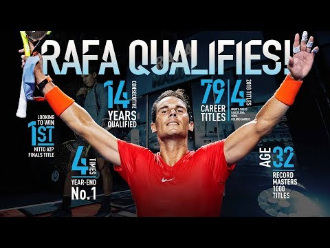 Nadal Qualifies For Nitto ATP Finals 2018 Mp3