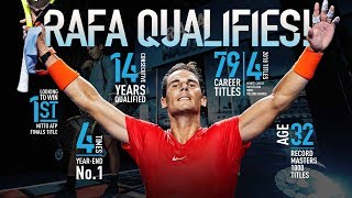 Nadal Qualifies For Nitto ATP Finals 2018