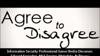 Repeat youtube video Edward Snowden, NSA, & Spying With Information Security Professional Aaron Bedra & Brian Engelman