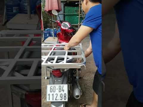 Baga, Giá Chở Hàng Gắn Sau Cho Xe Máy 0933 733 759
