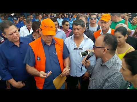 Comitiva adere movimento no Porto Oficial e realiza visitas em Guajará-Mirim - Vìdeo