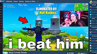 I Stream Sniped Ninja until he ASKED to 1v1 me on Fortnite...