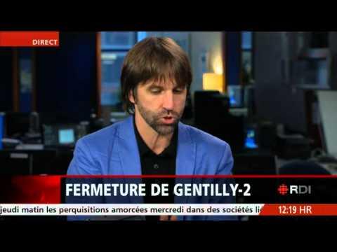 Steven Guilbeault sur Gentilly 2 (test HQ)