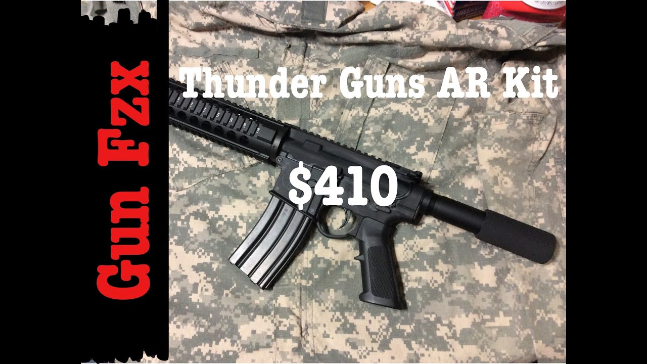 $ 410 AR 15 Pistol BUILD - Thunder Guns Kit